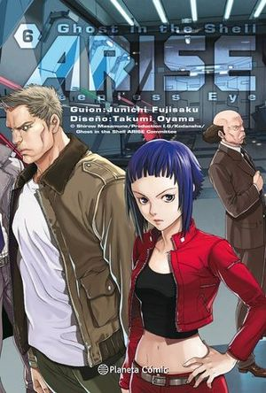 GHOST IN THE SHELL ARISE 6