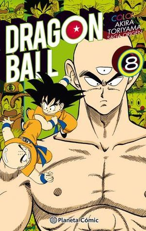 DRAGON BALL COLOR ORIGEN 8