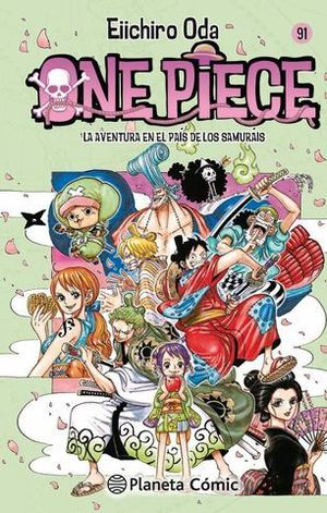 ONE PIECE Nº 91.