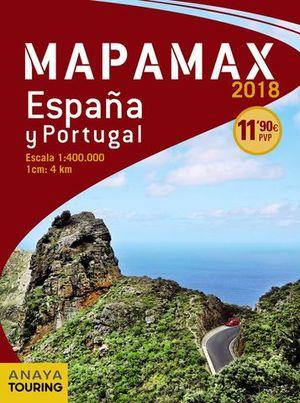 MAPAMAX 2018.  ESPAÑA Y PORTUGAL