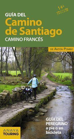 GUIA DEL CAMINO DE SANTIAGO.  CAMINO FRANCES  ED. 2019