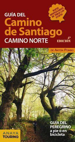 GUÍA DEL CAMINO DE SANTIAGO. CAMINO NORTE. ED. 2018