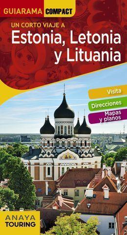 ESTONIA, LETONIA Y LITUANIA GUIARAMA COMPACT ED. 2020