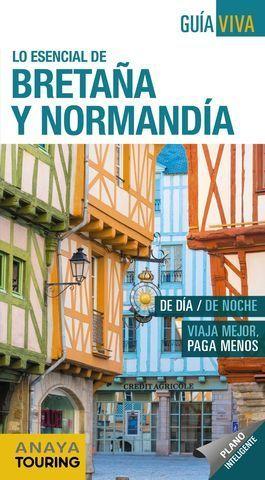 BRETAÑA Y NORMANDIA. GUIA VIVA  ED. 2019