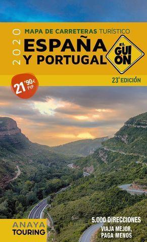 EL GUIÓN ESPAÑA Y PORTUGAL 2020  1:340.000
