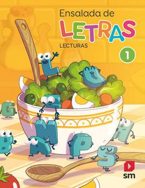 ENSALADA DE LAS LETRAS 1º EP LECTURAS ED. 2019
