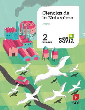 CIENCIAS DE LA NATURALEZA 2º EP ARAGON MAS SAVIA ED. 2019