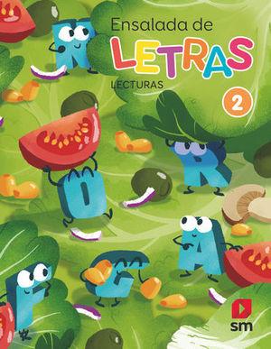 ENSALADA DE LAS LETRAS 2º EP LECTURAS ED. 2019