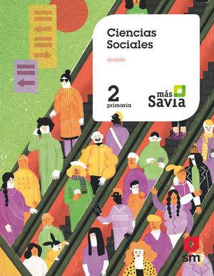 CIENCIAS SOCIALES 2º EP ARAGON MAS SAVIA ED. 2019