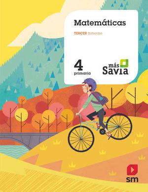 MATEMATICAS 4º EP MAS SAVIA ED. 2019