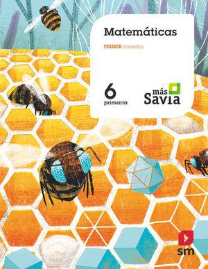 MATEMATICAS 6º EP MAS SAVIA ED. 2019