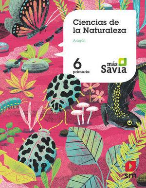 CIENCIAS DE LA NATURALEZA 6º EP ARAGON MAS SAVIA ED. 2019