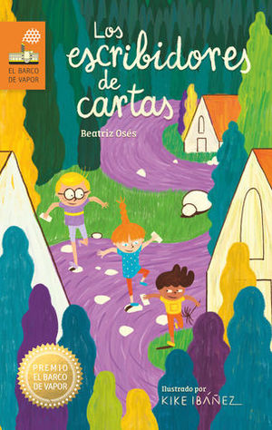 LOS ESCRIBIDORES DE CARTAS.PREMIO BARCO VAPOR 2019 (CARTONE)