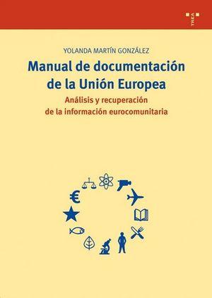 MANUAL DE DOCUMENTACION DE LA UNION EUROPEA