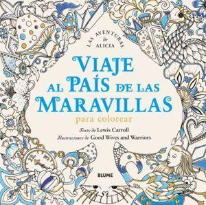 VIAJE AL PAIS DE LAS MARAVILLAS PARA COLOREAR