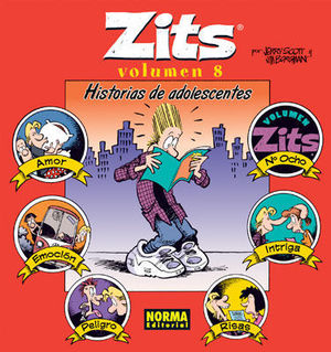 ZITS VOLUMEN 8 HISTORIAS DE ADOLESCENTES