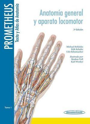 PROMETHEUS TEXTO ATLAS ANATOMIA ( 3 TOMOS )