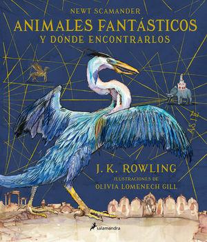 ANIMALES FANTASTICOS Y DONDE ENCONTRARLOS CARTONE