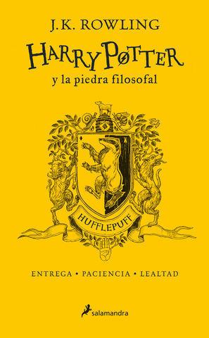 HARRY POTTER Y LA PIEDRA FILOSOFAL.  ED. ESPECIAL HUFFLEPUFF