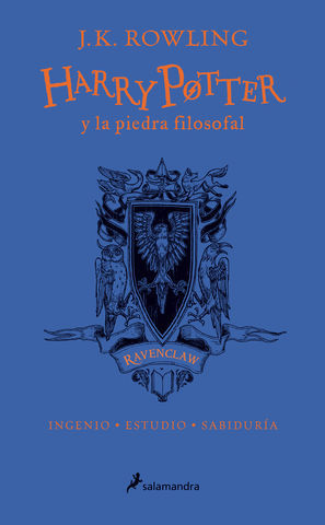 HARRY POTTER Y LA PIEDRA FILOSOFAL.  ED. ESPECIAL RAVENCLAW
