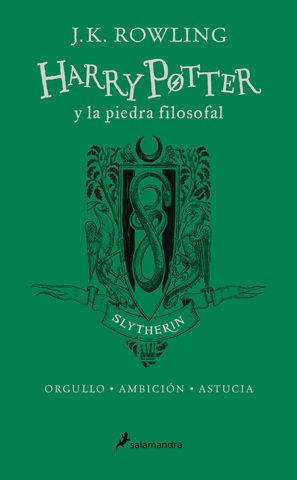 HARRY POTTER Y LA PIEDRA FILOSOFAL ED.ESPECIAL SLYTHERIN