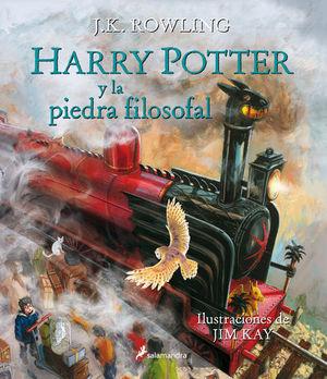 HARRY POTTER Y LA PIEDRA FILOSOFAL  ( ILUSTRADO TAPA BLANDA )