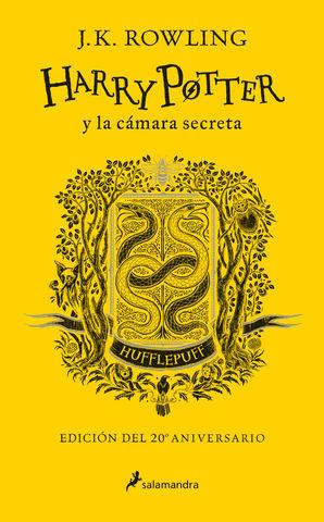 HARRY POTTER Y LA CÁMARA SECRETA. HUFFLEPUFF. AMARILLO