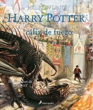 HARRY POTTER Y EL CÁLIZ DE FUEGO.