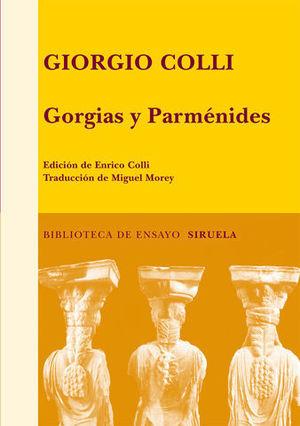 GORGIAS Y PARMINEDES