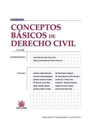 CONCEPTOS BASICOS DE DERECHOS CIVIL 3ª ED. 2009
