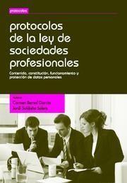 PROTOCOLOS DE LA LEY DE SOCIEDADES PROFESIONALES