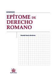 EPITOME DE DERECHO ROMANO
