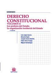 DERECHO CONSTITUCIONAL VOLUMEN II 8ª ED. 2010