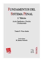 FUNDAMENTOS DEL SISTEMA PENAL 2ª ED. 2010