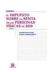 EL IMPUESTO SOBRE LA RENTA DE LAS PERSONAS FISICAS DE 2010