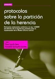 PROTOCOLOS SOBRE LA PARTICION DE LA HERENCIA