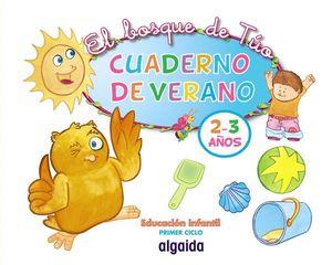 CUADERNO DE VERANO 2-3 AÑOS EL BOSQUE DE TUO