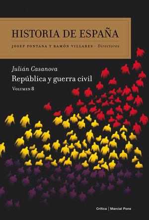 REPUBLICA Y GUERRA CIVIL VOLUMEN 8
