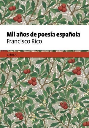 MIL AÑOS DE POESIA ESPAÑOLA