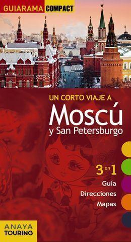MOSCU Y SAN PETERSBURGO GUIARAMA COMPACT ED. 2017