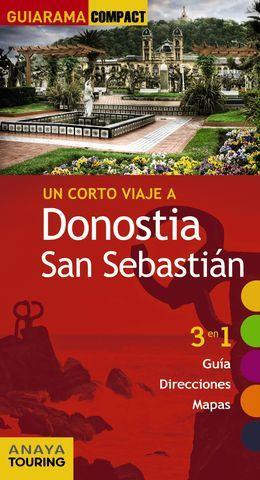 DONOSTIA SAN SEBASTIAN.  GUIARAMA COMPACT ED. 2017