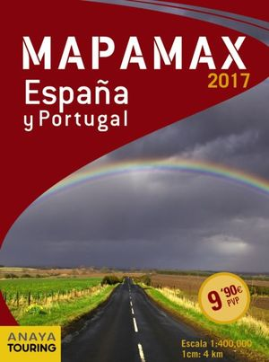 MAPAMAX ESPAÑA Y PORTUGAL ED. 2017