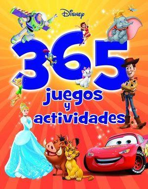 365 JUEGOS Y ACTIVIDADES DISNEY