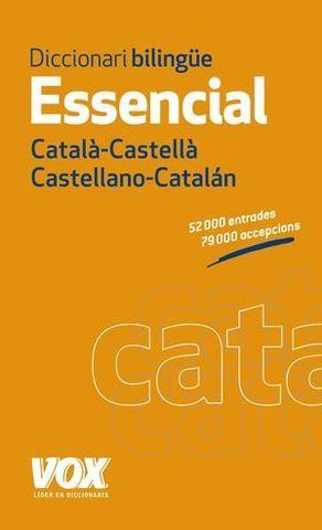 DICCIONARIO VOX ESSENCIAL CASTELLANO CATALAN