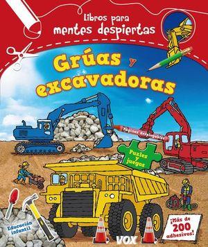 GRUAS Y EXCAVADORAS LIBROS PARA MENTES DESPIERTAS