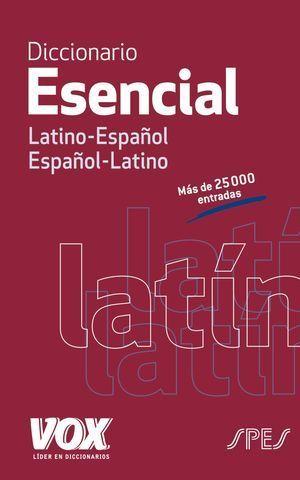 DICCIONARIO VOX ESENCIAL ESPAÑOL LATINO