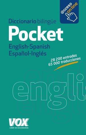 DICCIONARIO POCKET VOX INGLES ESPAÑOL - ESPAÑOL INGLES