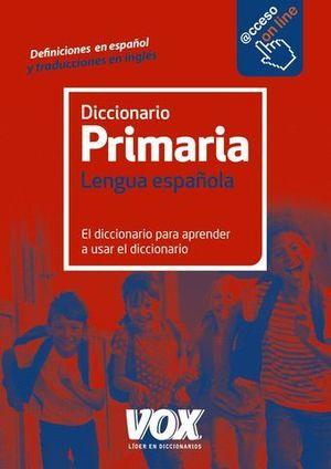 DICCIONARIO VOX PRIMARIA ED. 2016