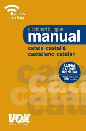 DICCIONARI MANUAL CATALÀ-CASTELLÀ / CASTELLANO-CATALÁN. 2018