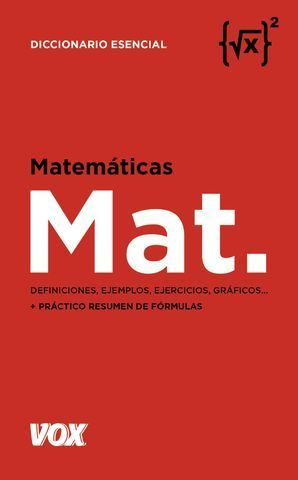 MATEMÁTICAS. DEFINICIONES, EJEMPLOS, EJERCICIOS...